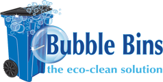 Bubble Bins, Logo